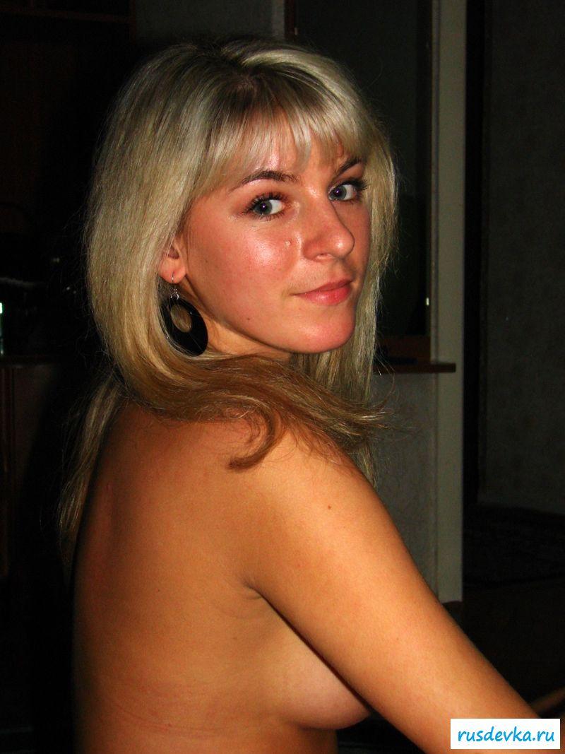Аматорское Фото Русской Блондинки